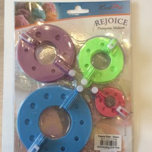Knit Pro Rejoice Pom Pom Makers – 4 sizes